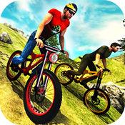 疯狂越野山自行车车手模拟器3D