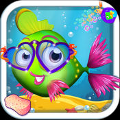 我的宝贝鱼 - 虚拟宠物护理游戏的孩子