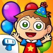 My Birthday Party - 蛋糕, 气球和礼物的孩子们