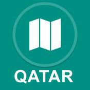 卡塔尔 : 离线GPS导航 1