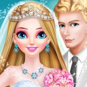 长发公主婚纱和化妆 - 结婚 1.2