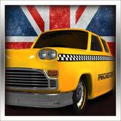 伦敦出租车 - 英国3D疯狂驾驶室赛 1