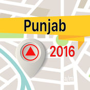 Punjab 离线地图导航和指南