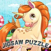 着色书我童话小马独角兽拼图游戏故事 游戏 和 马匹 游戏 对于 孩子 幼儿 独角兽 行星 连衣裙