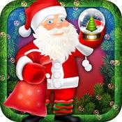 我的节日秘密圣诞老人的圣诞穿衣戴帽复制制造商免费游戏
