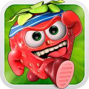 糊涂水果种族 - 自由运行赛车游戏