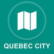 加拿大魁北克市 : 离线GPS导航