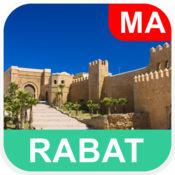 拉巴特,摩洛哥 离线地图 - PLACE STARS