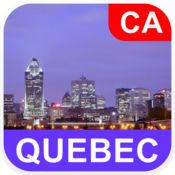 加拿大魁北克省, 离线地图 - PLACE STARS