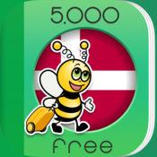 5000条短语 - 免费学习丹麦语语言 - 来自于 FunEasyLearn