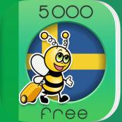 5000条短语 - 免费学习瑞典语语言 - 来自于 FunEasyLearn