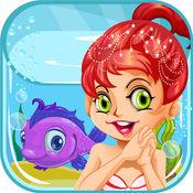 我的人鱼公主化妆2 - 化妆,换装及水疗沙龙游戏的女孩