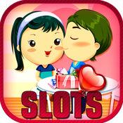 拉斯维加斯插槽的爱:情人节的浪漫赌场