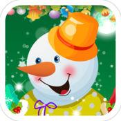可爱的雪人-疯狂的冬季时尚换装游戏 1