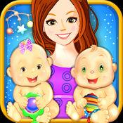 我刚出生的双胞胎宝宝 - 小新的婴儿和妈妈照顾