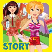 我自己设计的俱乐部互动高中生活装扮故事书 - 免费应用程序