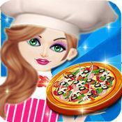 我的披萨店世界厨师,快餐烹饪游戏的女孩