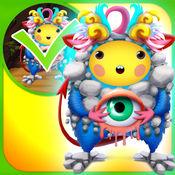 我的秘密世界的怪物绘制和复制俱乐部游戏 - 广告的免费应用