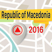 马其顿王国 离线地图导航和指南