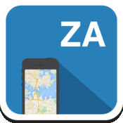 南非共和国 离线地图,指南,天气,酒店。免费导航。GPS 1