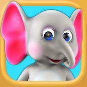 会说话大象 - 虚拟宠物: 好玩的游戏