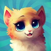 我说话的虚拟宠物: 猫 & 一只小猫, 为孩子们的游戏 1
