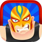 我的前摔跤巨星电源 - 摔跤传奇建设者游戏 1
