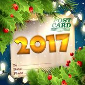 新年2017年问候卡 1