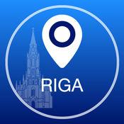 里加离线地图+城市指南导航,旅游和运输