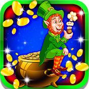 幸运的小妖精老虎机:匹配7爱尔兰的符号,并获得梦幻般的奖金