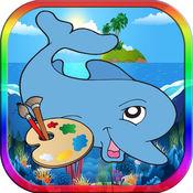 画画涂色 著色遊戲 绘画比赛 画画涂色 彩页 水彩画 best drawing app
