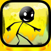Ace Stickman Jump and Run Game - 王牌火柴人跳和运行游