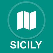 西西里岛,意大利 : 离线GPS导航