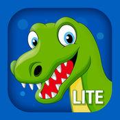 恐龙拼图! 儿童和幼儿发育游戏