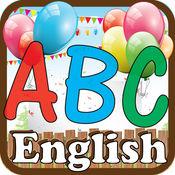 儿童游戏 英文字母为学龄前儿童幼儿园靓女