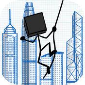 涂鸦飞跃—高空飞跃冒险 :  Doodle Swing – High Flying Swinging Adventure