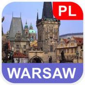 华沙,波兰 离线地图 - PLACE STARS