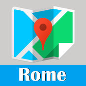罗马旅游指南地铁意大利甲虫离线地图 Rome travel guide and offline city map, BeetleTrip Roma metro trip advisor