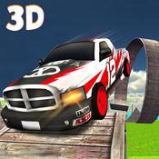越野车特技驾驶3D:拉力赛车汽车疯狂