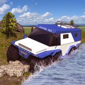 越野蜈蚣卡车驾驶模拟器3D游戏 8x8 Russian Truck Simulat