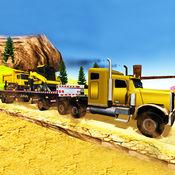越野山卡车司机起重机模拟器3D游戏 1