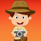 适合3-6岁儿童的免费迷你游戏——野生动物园、野生植物和野生动物照片