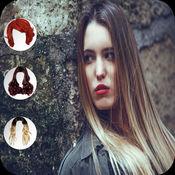 婦女髮型照片製造商 - 婦女化妝