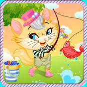 装扮小猫游戏...