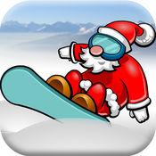 圣诞老人雪地滑雪 - 收集遗落的圣诞礼物
