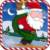 圣诞老人冲浪