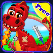 龙医生 — — 婴儿便利的交通,免费医生手术 & 动物医院游戏
