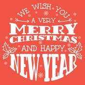 XmasPicFrames – 圣诞快乐 新年快乐 先进的文本和照片编辑器 背景 相框 贴纸