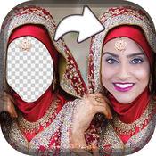 婚礼 Hijab 照片蒙太奇 1