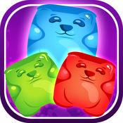 可堆叠的快乐软糖熊 - 甜滴挑战